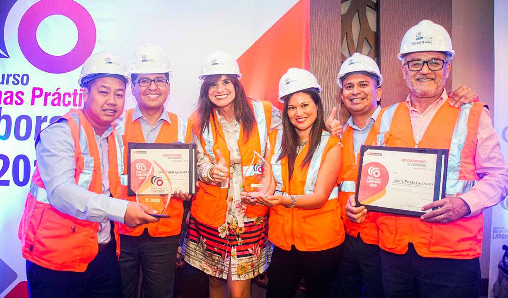Empresas Ganadoras del Concurso de Buenas Prácticas Laborales